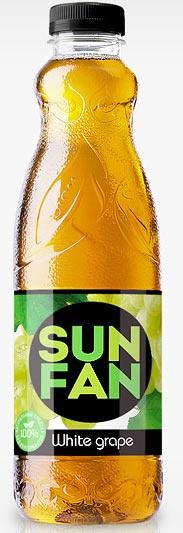 Напиток Яблоко негаз.SUN FAN 1,5л.